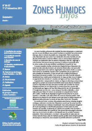 Couverture Zones humides et epuration des eaux - ZHI_86-87_Epuration_et_zones_humides_v1